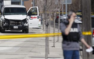 Nine people killed after van mounts pavement and drives into pedestrians in Toronto