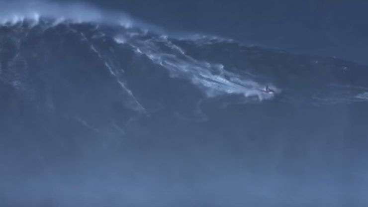 WATCH: The world record for the biggest wave ever surfed has been broken