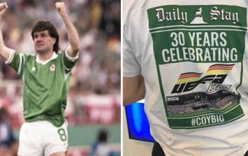 Irish stag party in Stuttgart mark the Euro '88 win over England in the best way possible