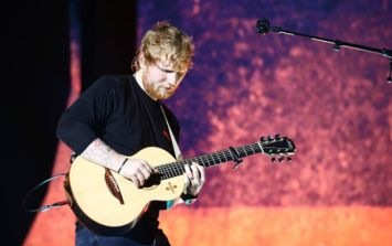 The following items are all banned from Ed Sheeran's gigs this weekend