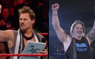 WWE's Chris Jericho returned to Japan with a strange new look