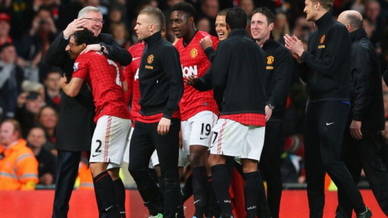 Here are all the messages from Man United players to Alex Ferguson