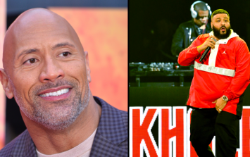 The Rock lays the smackdown on DJ Khaled after he admits he doesn't go down on his wife