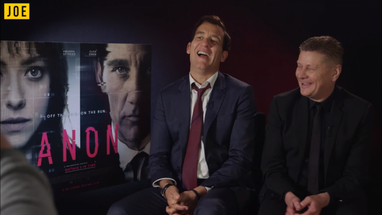 Clive Owen and director Andrew Niccol on how technology is changing filmmaking