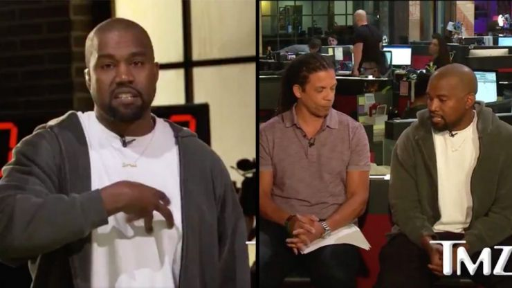 "WATCH: Kanye West suggests slavery was ""a choice"" in controversial TMZ interview"
