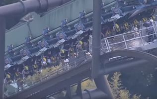 WATCH: Rollercoaster stalls mid-twist, leaving dozens of people hanging upside down for hours