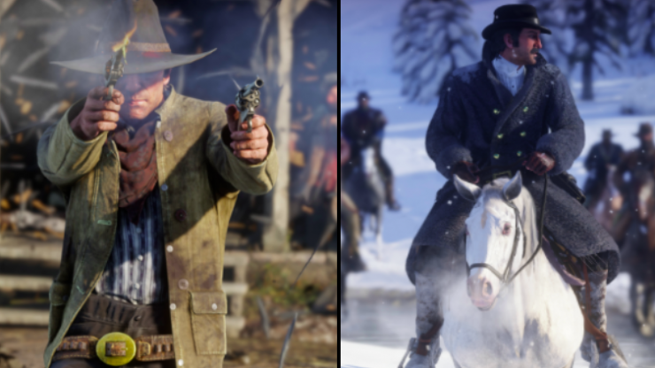 Red Dead Redemption 2 trailer just dropped and it looks gorgeous