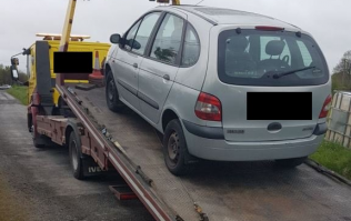 Car impounded for no tax, NCT or insurance, same car spotted trying to dodge Gardaí just two hours later