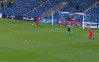 WATCH: Ireland fans left outraged as U17 goalkeeper sent off after saving penalty