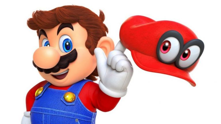 this image of shaved super mario with his moustache shaved off is