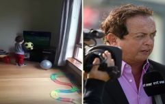 WATCH: Two-year old hurling fan delivers commentary performance worthy of Marty Morrissey