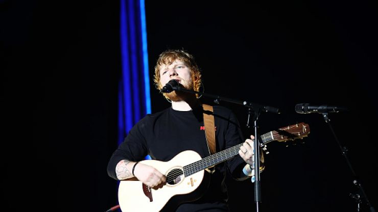 Ed Sheeran fans will be able to order take-away while queuing for his gigs in Phoenix Park