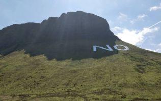 PICS: Exclusive photos of Ben Bulben No sign