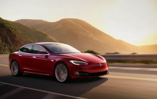 Behind the wheel of a Tesla Model S on one of the most scenic routes in Ireland
