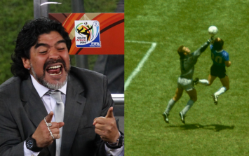 """Maradona has declined invitation to reunite with and """"apologise"""" to Peter Shilton"""