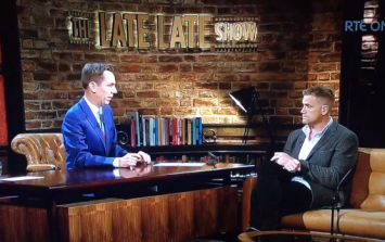 WATCH: Jamie Heaslip discusses the reaction to the Jackson/Olding trial on The Late Late Show