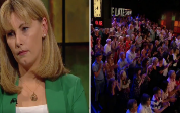 Emma Mhic Mhathúna receives an incredibly emotional standing ovation on the Late Late Show