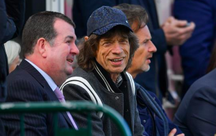 Mick Jagger spotted at Ireland v Pakistan test cricket match in Malahide