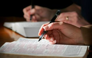 Here's the reason why you're seeing Bibles in your polling station