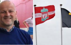 Sean Cox's GAA club fly the Liverpool flag and release touching statement of support