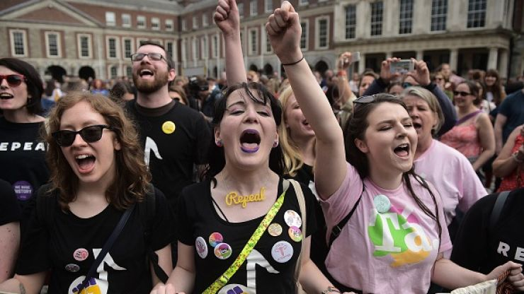 OFFICIAL: Ireland has voted to repeal the Eighth Amendment