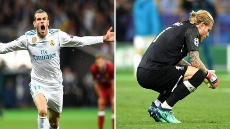 Gareth Bale's breathtaking volley somehow tops Karius' catastrophic clangers
