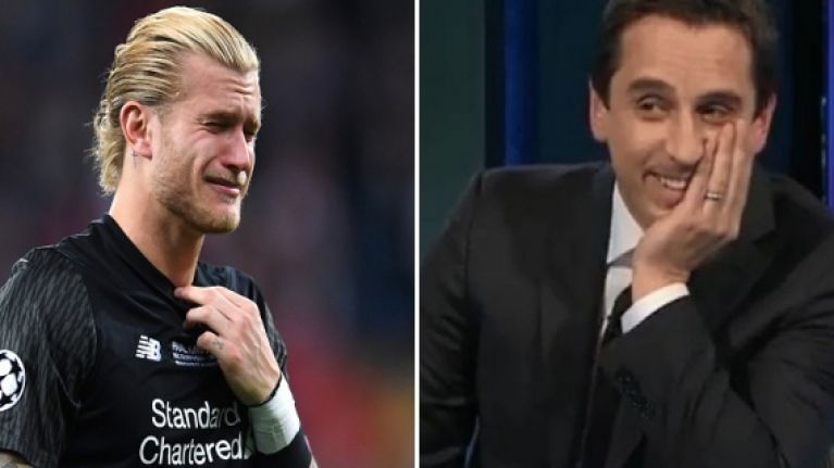 Gary Neville has really twisted the knife into Liverpool's Champions League defeat
