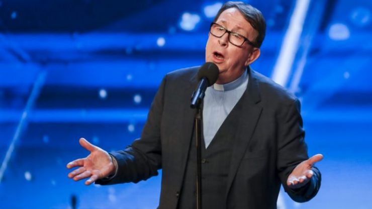 Viral singing priest Father Ray Kelly has made it through to Britain's Got Talent semi-finals