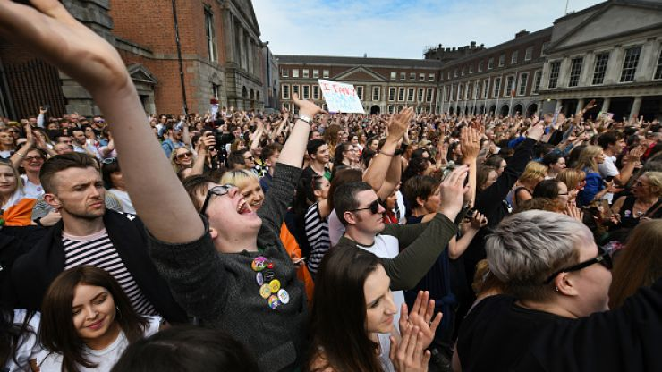 """""""We will rise again"""" - Save the 8th issues press release following abolishment of Eighth Amendment"""