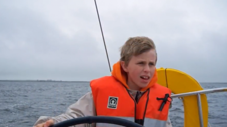 """""""This is his form of expression"""" - Meet the Galway man overcoming non-verbal autism to sail competitively"""
