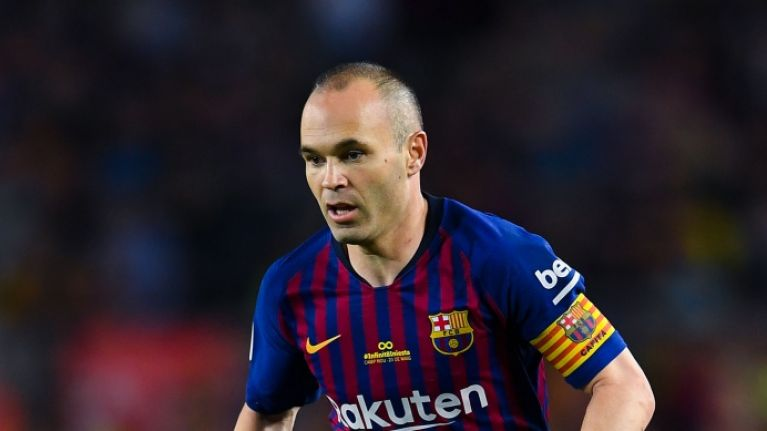Andres Iniesta is being criticised for a controversial blackface picture he has posted online
