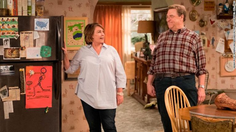 Roseanne's reboot show cancelled following a string of racist and conspiratorial tweets