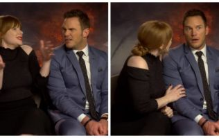 Chris Pratt's reaction to Bryce Dallas Howard's Irish holiday story is priceless
