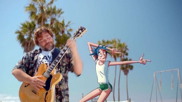 LISTEN: Gorillaz have just released arguably the most summer-y sounding song ever