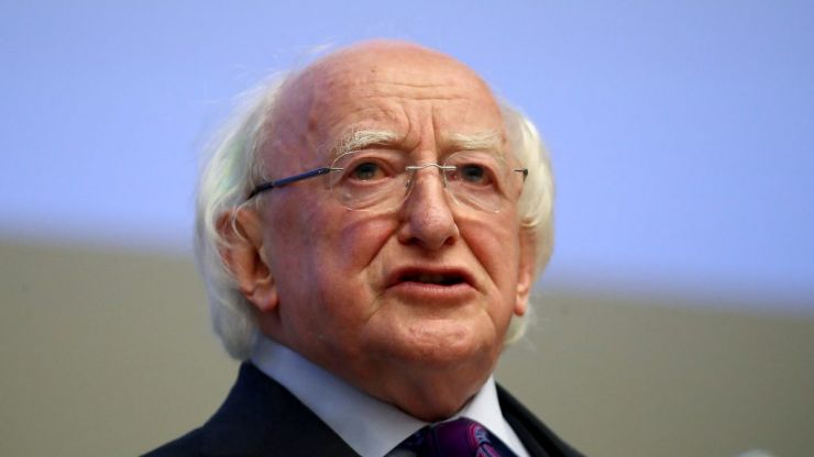 Michael D. Higgins releases touching statement in honour of St Brigid's Day