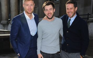 Freddie Flintoff and Jamie Redknapp in Ireland this weekend to film A League Of Their Own challenge