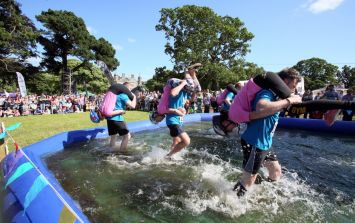 All Ireland Wife Carrying Championships now taking applications