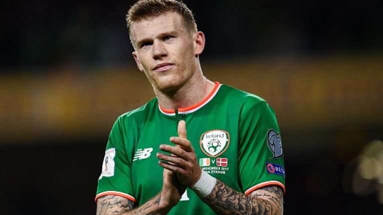 Kind-hearted James McClean pays for six homeless people to have food and shelter