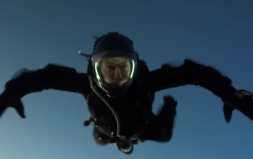 WATCH: Tom Cruise pulls off a death-defying stunt while filming Mission: Impossible Fallout