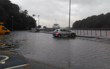 Donegal experiences flooding as Storm Hector plays havoc with Ireland's coastlines