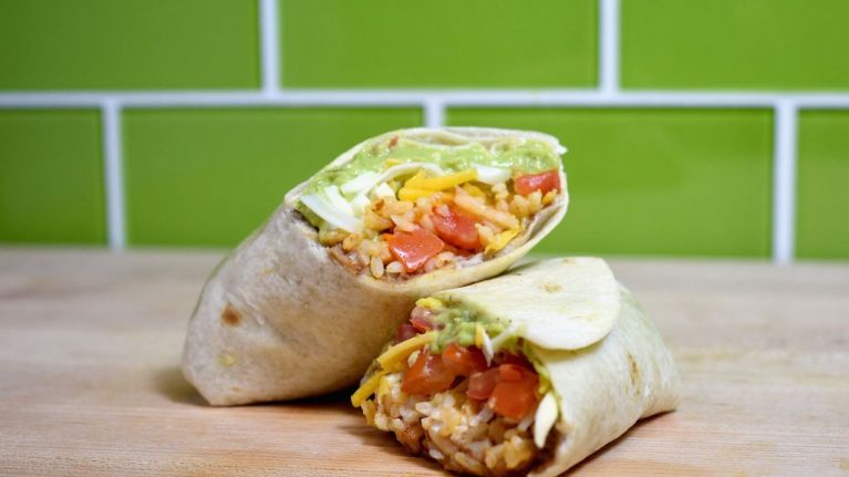 Free burritos are being given away in Dublin today and next week