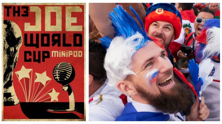 The greatest show on earth is here and so is The JOE World Cup Minipod