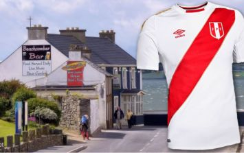 One Donegal village is going all out to support Peru throughout the World Cup