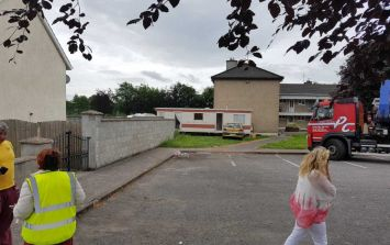 Residents in a housing estate in Cork engage in stand-off over mobile home row
