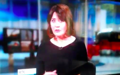 RTÉ News presenter mortified as she's caught fixing herself on camera
