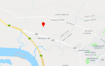 Two men airlifted to hospital following house fire in Clare