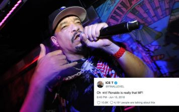 Ice T tweeting about the World Cup is already one of best things about the tournament