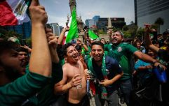WATCH: Fans in Mexico celebrated their win over Germany so hard that it caused a small earthquake