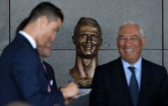 Highly scrutinised bust of Cristiano Ronaldo replaced with one bearing 'better likeness'