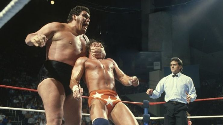 HBO's excellent Andre The Giant documentary is on TV tonight